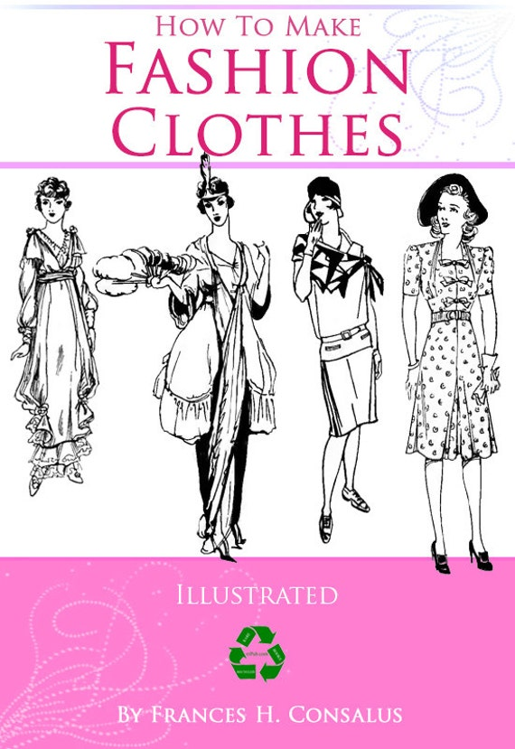 How To Make Fashion Clothes Dressmaking An Intermediate Course Etsy
