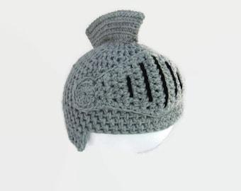 Babies Knight Hat,  Toddler Costume Beanie, Baby Knight Beanie, Baby's  Winter Hat