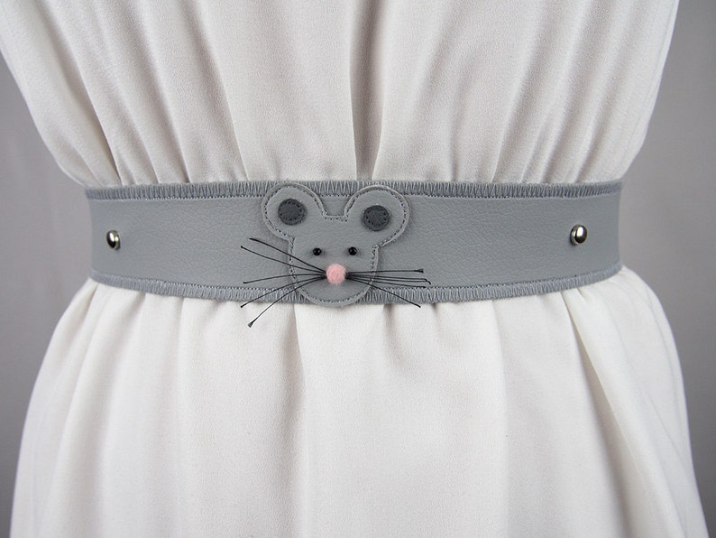 Male Mouse Belt  Handmade  Free Shipping Worldwide image 0