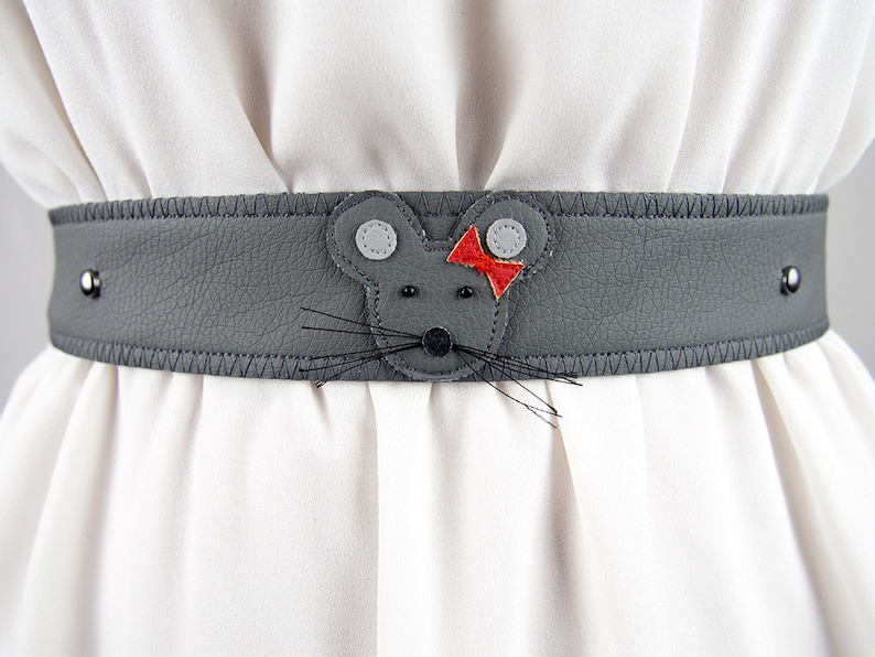 Female Mouse Belt  Handmade  LAST ONE image 0