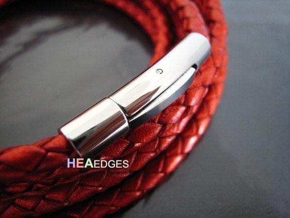 4 Juegos De Tapones De Tono Plata Estampada Para 7.5mm Cable de 8mm Con Cadena De Cierre /& Reino Unido