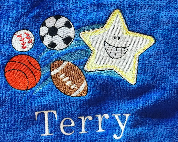 personalized beach towels perfect for kids and adults, sports,