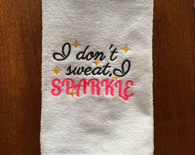 Custom gym towel, Fitness, Gym towel, Personalized, workout towel, sweat towel, exercise towel, sport towel, exercise gift,