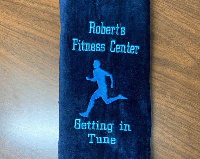 Personalized running towels, embroidered towel, cross country,