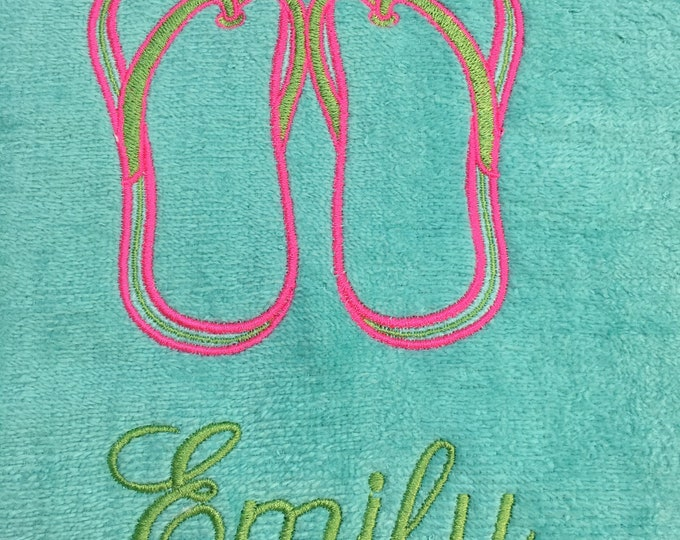Personalized beach towels perfect for kids and adults, beach / bath towels, 30 x 60