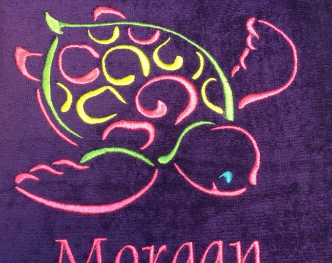 Beach towel, made to order, personalized beach towels, towels for kids and adults, lots of design and color choices