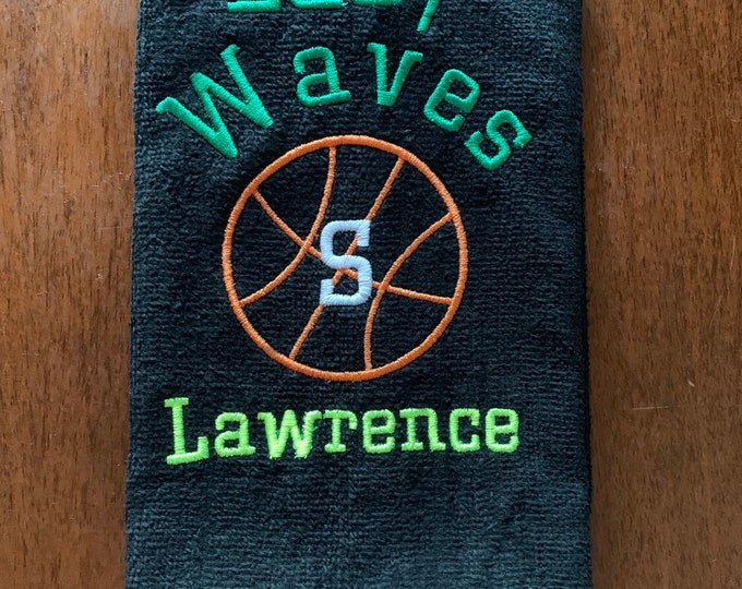 Custom Team Sport Towels, Any Sport, as many as you need. towels, 11 x 18 or 16 x 26.