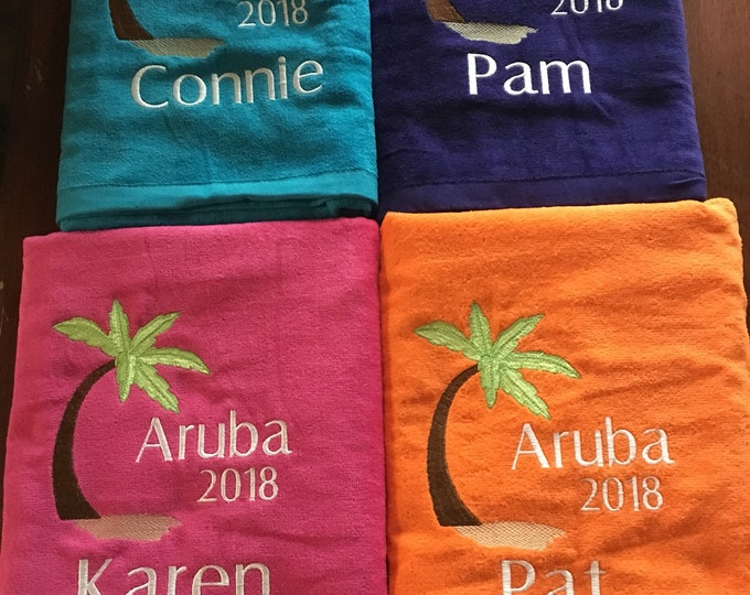 Vacation Beach towel, Swim team towels, swim team, Beach towel, bath towel, water polo, water sports, Personalized beach towel, pool towel,