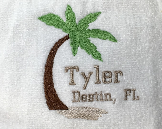 Custom Personalized Golf towel - For Your Golf Outing - gift for him - gift for her - any name