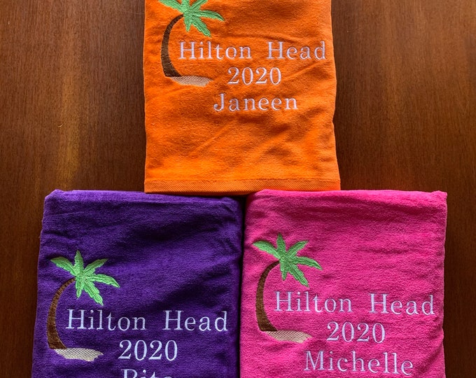Personalized Beach towel, Swim team towels, swim team, Beach towel, bath towel, water polo, water sports, Personalized beach towel, stitched