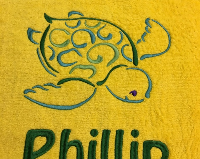 Personalized Beach Towel or Pool Towel, Vacation Towels, Destination  Wedding, Monogrammed Beach Towel,