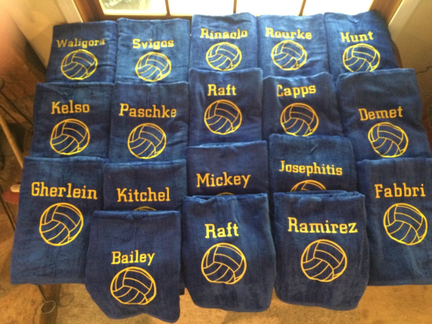 Water polo towels, Personalized beach towel, pool towel, monogrammed ...