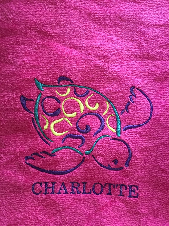 Monogrammed beach towel, Kids Easter Gift, pool towel, monogrammed ...