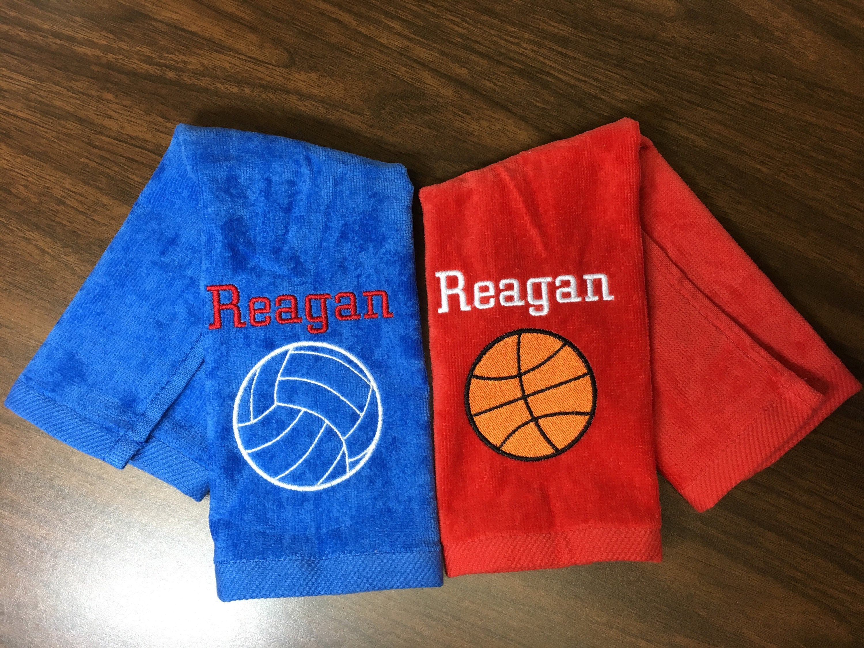 aa51912d655 Custom Basketball Towel with personalized embroidery