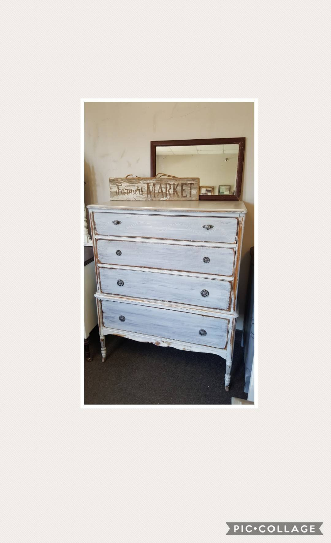 tall dresser chest. PICK UP ONLY Vintage Shabby Chic Tall Dresser, Chest, Driftwood Finish, Bureau,french Country, France, Boy, Rustic, Farmhouse, Bedroom Dresser Chest