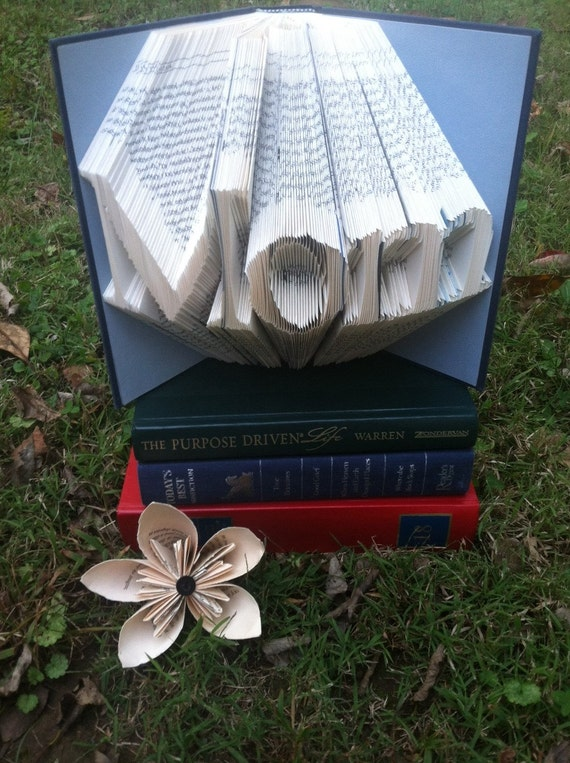 Mom Folded Book Art Book Origami Mother's Day Gift   Etsy - photo#36