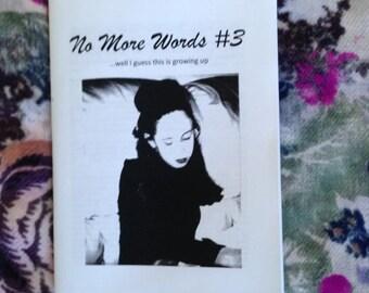No More Words #3