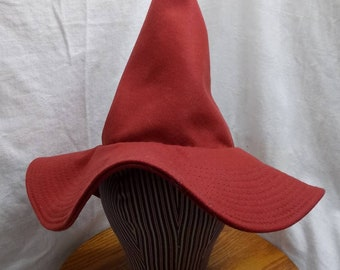 """Whimsy Witch Hat by Anna Worden Bauersmith (WW22) 21"""" circumference"""