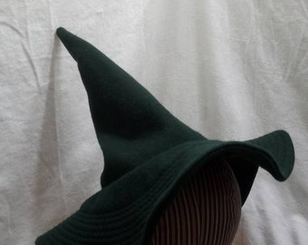 """Whimsy Witch Hat by Anna Worden Bauersmith (WW20) 21"""" circumference"""
