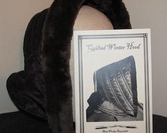 Quilted Winter Hood  Pattern Electronic Version -  By Anna Worden Bauersmith