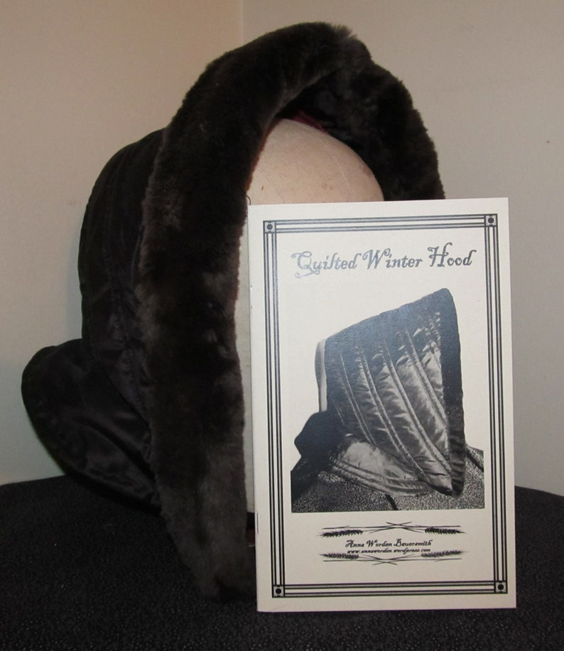 Quilted Winter Hood  Pattern Electronic Version   By Anna image 0