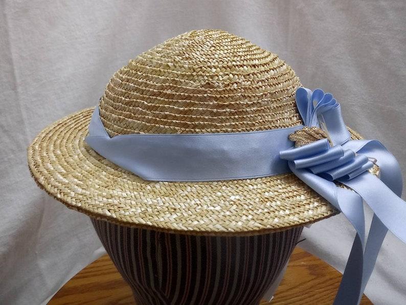 Victorian Era Hat   Hand Sewn by Anna Worden Bauersmith F7 image 0