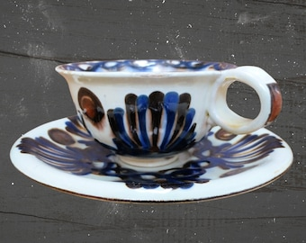 K\u00e4hler Hand Decorated Small Bowl Vintage Herman A