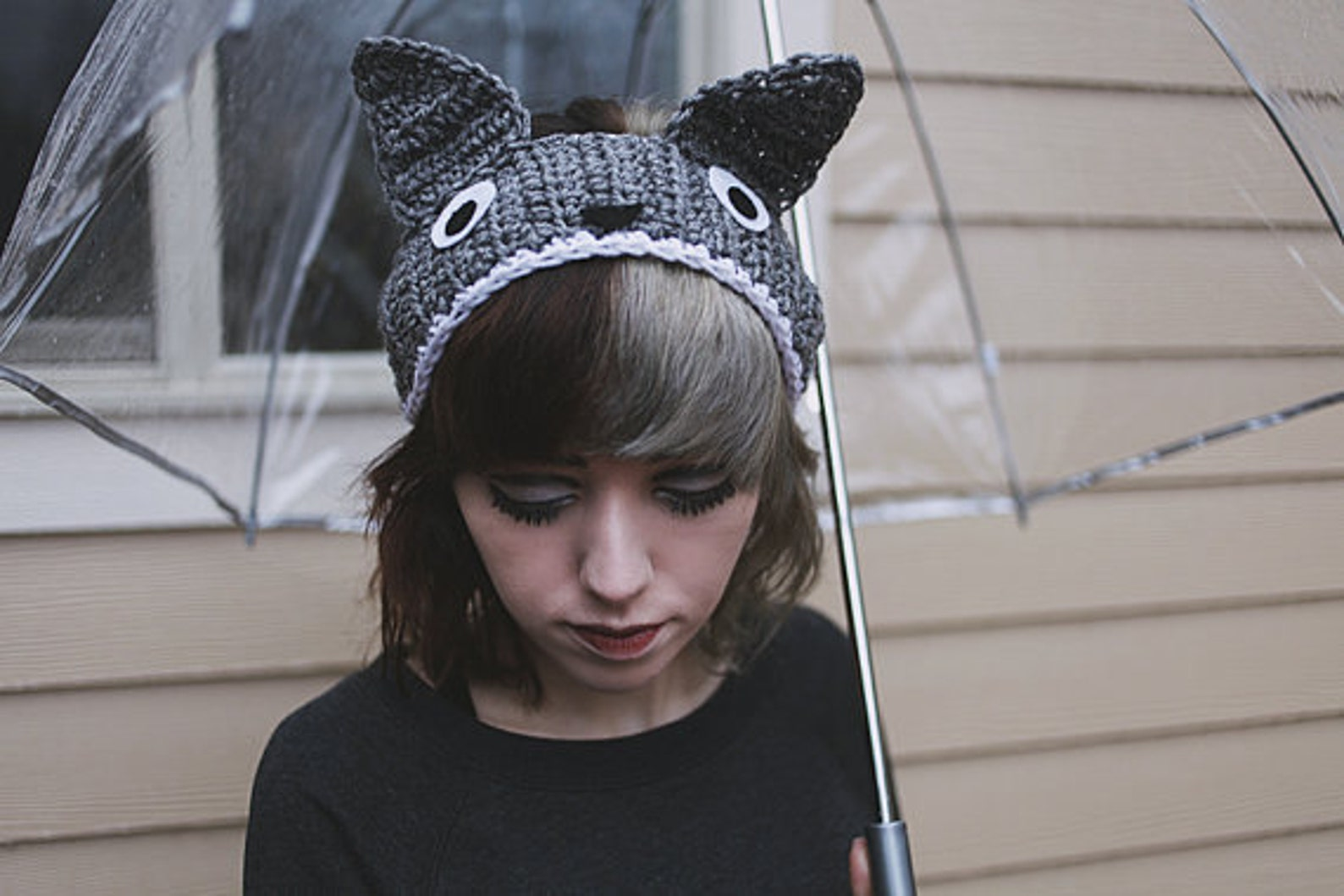 My Neighbor Totoro - Handmade Totoro Crochet Ear Warmer Headband
