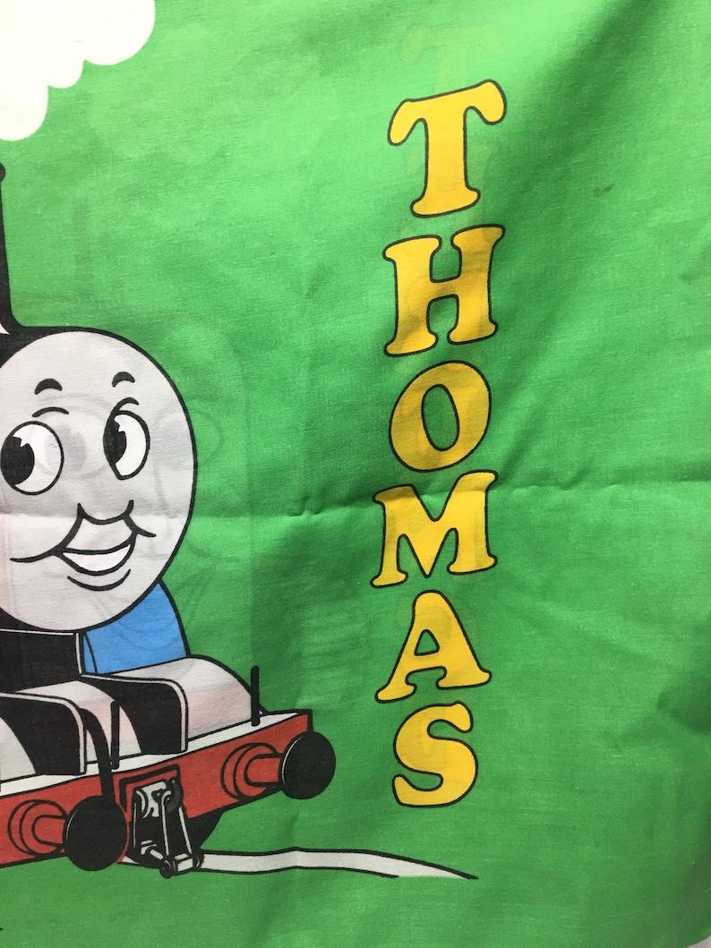 Vintage Thomas Der Zug Terence Kissenbezug Zug Cartoon Etsy