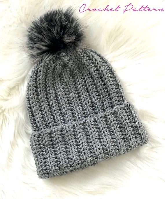 Crochet PATTERN Crochet Hat Pattern Easy Crochet Pattern  f1f85571521
