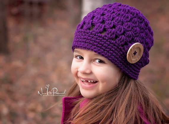 Crochet Patterns Slouchy Hat Pattern Crochet Hat Pattern Etsy