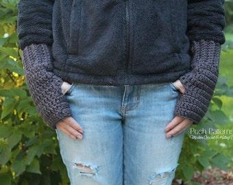 Crochet PATTERNS - Fingerless Mittens - Crochet Mittens Pattern - Fingerless Glove Pattern - Includes Toddler, Child, Adult Sizes - PDF 387