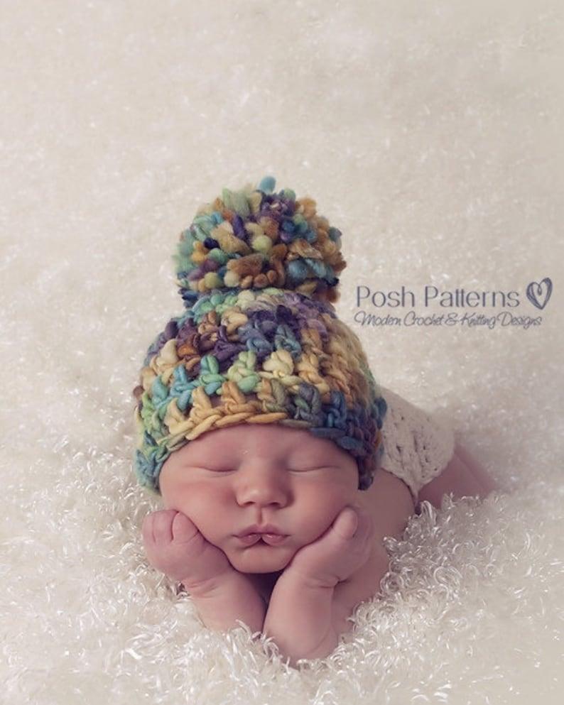 956183882d5 CROCHET Pattern Crochet Hat Pattern DIY Crochet Beanie