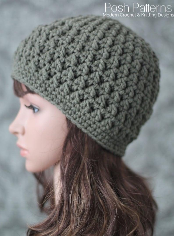 bb66cbe7ab8 Crochet PATTERN Crochet Hat Pattern Crochet Patterns for