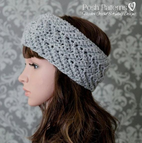 Crochet Pattern Crochet Headband Pattern Crochet Pattern Etsy