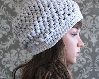 Crochet PATTERN - Slouchy Hat Pattern - Crochet Hat Pattern - Crochet Slouchy Hat - Baby, Toddler, Child, Adult Sizes - PDF Pattern 406