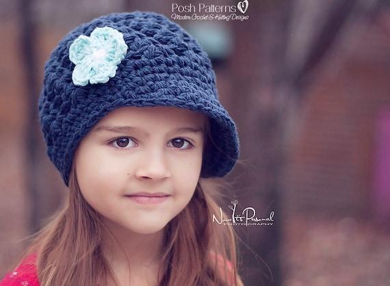 Crochet Pattern Crochet Newsboy Hat Pattern Crochet Hat Etsy