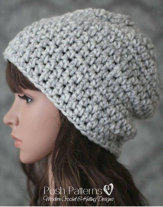 Crochet Pattern Easy Crochet Pattern Crochet Hat Pattern Etsy