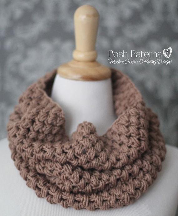 Crochet Pattern Crochet Cowl Pattern Crochet Pattern Scarf Etsy