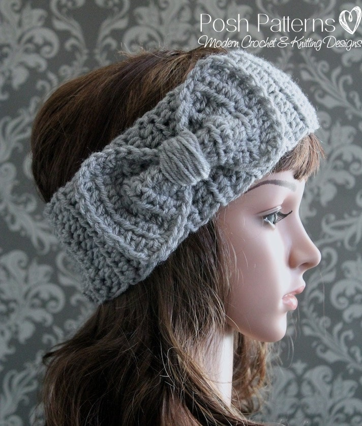 Crochet Pattern Crochet Headband Pattern Baby Crochet Etsy