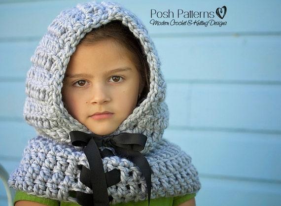 Crochet Pattern Crochet Hood Pattern Crochet Scarf Etsy