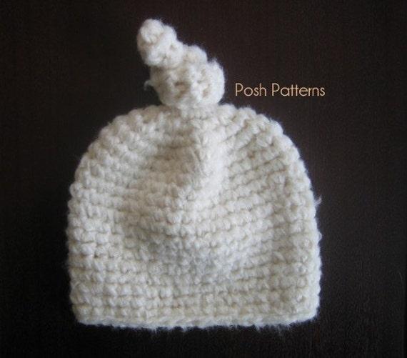 Crochet PATTERN Crochet Hat Pattern Crochet Baby Hat  6587c87419df