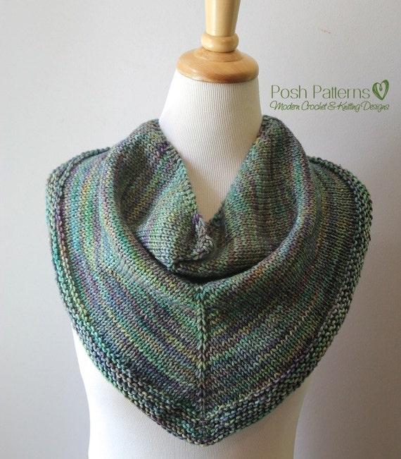 Knitting Pattern Knit Scarf Pattern Knitting Patterns For Etsy