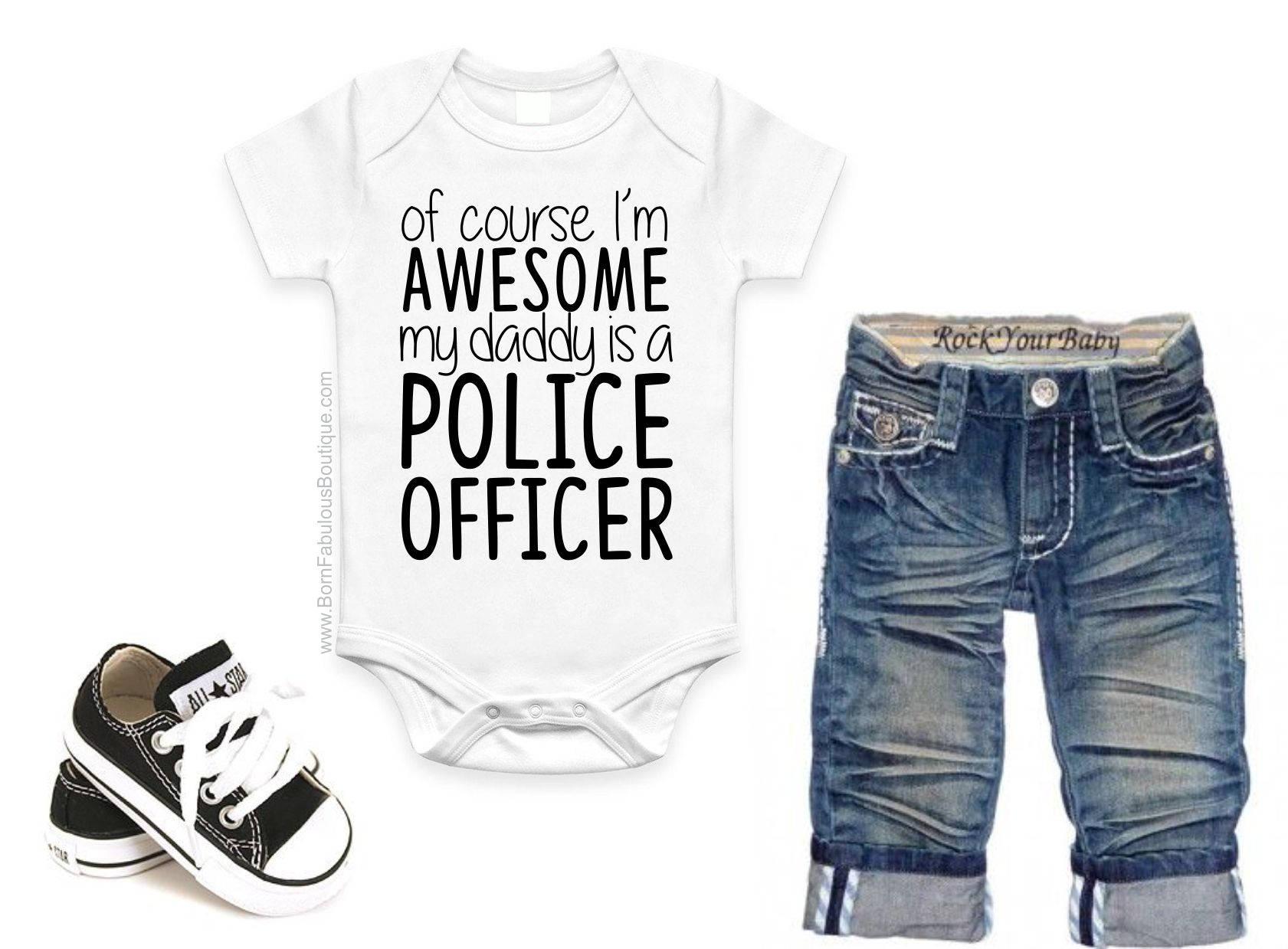 Polizist Geschenk Geschenk zum Vatertag Vatertag Geschenk