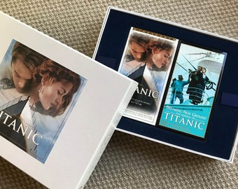 TITANIC Boxset VHS with Book - Perfect condition