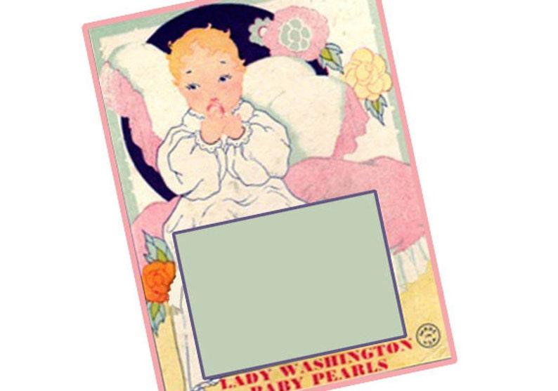 vintage button cards instant download printable jpeg  etsy