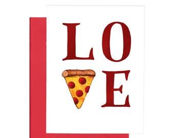 Pizza Love Occasion Card