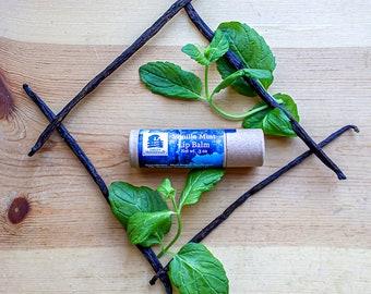 Vanilla Mint Lip Balm - Naturally Moisturizing