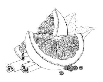 Orange Spice Probiotic Deodorant - with Magnesium Oil - All Natural