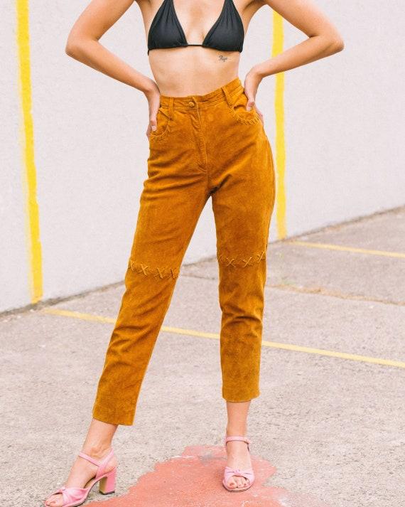 Vintage 1970's Suede Pants